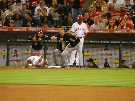 20110510 Angels vs WhSox - Aybar pick off attempt - for blog.JPG