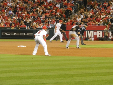 20110510 Angels vs WhSox - Aybar Trumbo Piersinsky - for blog.JPG